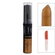 Блеск и помада для губ M.A.C Rihanna Lipstick & Matte Lipgloss, №12