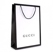 Подарочный пакет Gucci 23*15 см