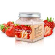 Wokali Скраб для тела Strawberry Sherbet Body Scrub с клубникой, 350 мл + ПОДАРОК скраб для лица