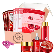 Beauty Club Подарочный набор средств по уходу за кожей лица Box №052, 18 средств + подарок