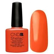 Шеллак CND Shellac (#90514) Electric Orange 7.3 ml. Ярко-оранжевый эмалевый
